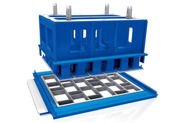 透水砖机模具