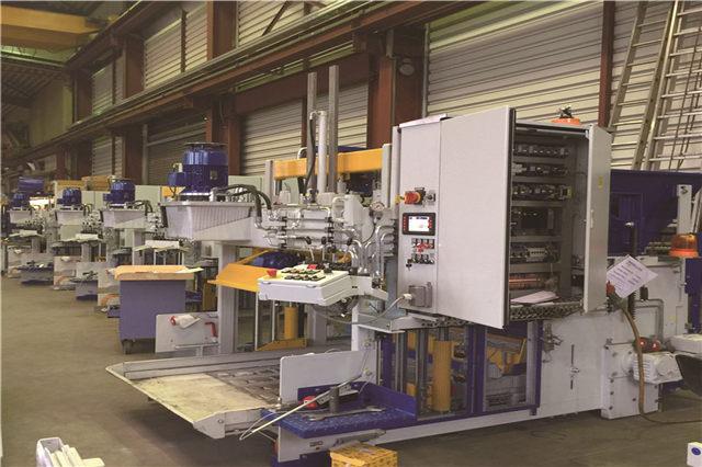 固废制砖设备生产线