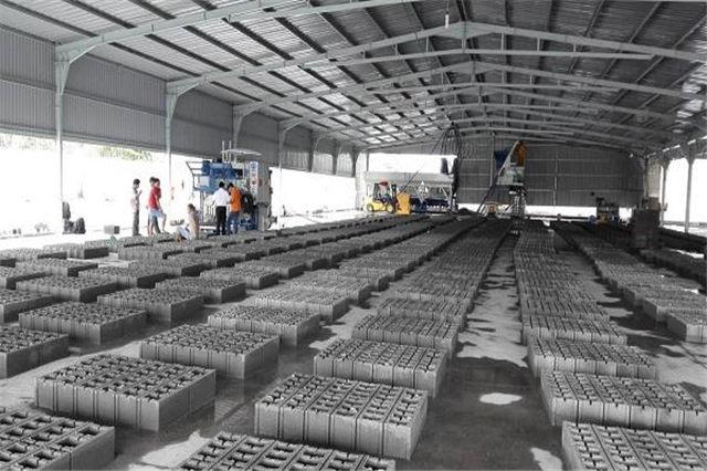 大型建筑垃圾制砖机