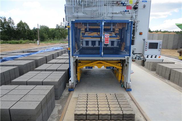 大型路面砖机